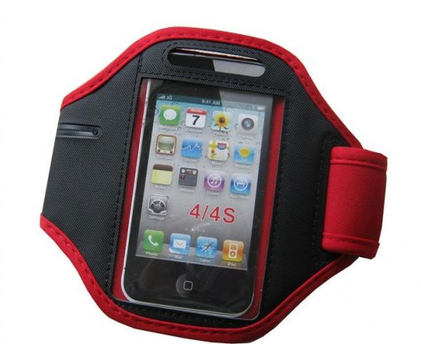 neoprene running armband iphone4s/5 waterproof case for mobile phone with