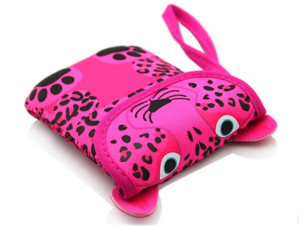phone accessries china wholesale neoprene phone case with cute animal pattern