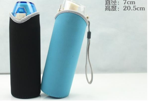 neoprene cool & thermo insulated bottle holder bag with wristband / cheap vacuum