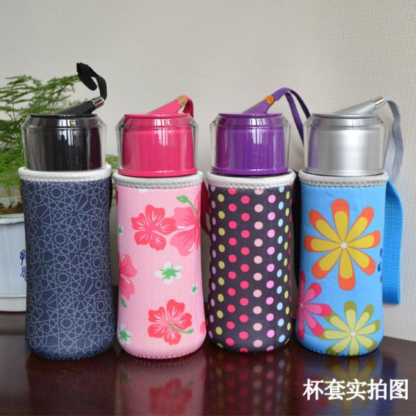 neoprene Cool Thermo Insulated Water Bottle Holder Bag with handle for 500Ml ,