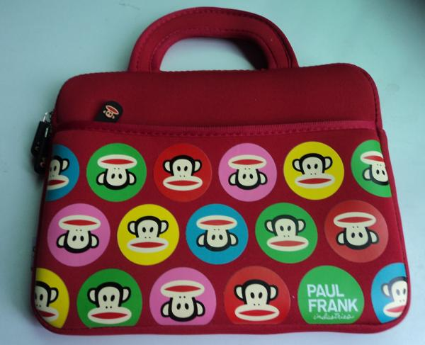 Paul Frank High grade portable neoprene Laptop bag with supersoft velvet inside
