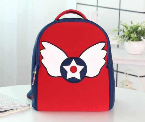 Angle baby Kids travel bags backpack custom classic neoprene school bag with