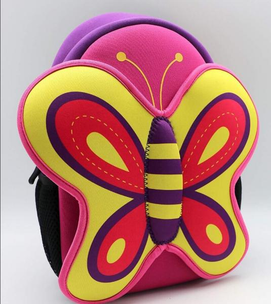 butterfly backpack for Kids Cartoon Animal Series Schoolbag Boys Grils Toddler